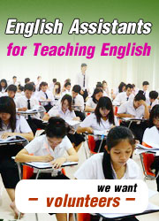 English Assistants of Teaching English Thailand